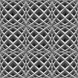 Design seamless monochrome diamond pattern Stock Photo