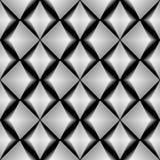 Design seamless monochrome diamond pattern Stock Images