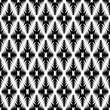 Design seamless monochrome diamond pattern Stock Images