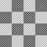 Design seamless monochrome diamond pattern Stock Photography