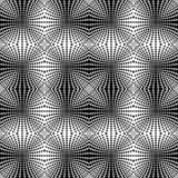 Design seamless monochrome dots background Stock Image