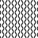 Design seamless monochrome ellipse lines pattern Royalty Free Stock Photos