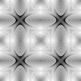 Design seamless monochrome ellipse pattern Stock Image
