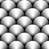 Design seamless monochrome ellipse pattern Royalty Free Stock Photos