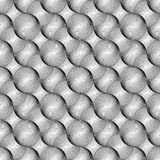 Design seamless monochrome ellipse pattern Stock Photos