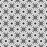 Design seamless monochrome floral pattern. Abstrac Stock Photos