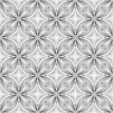 Design seamless monochrome flower pattern Stock Photo