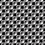 Design seamless monochrome flower pattern Stock Photo