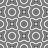 Design seamless monochrome geometric pattern Stock Images