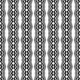 Design seamless monochrome geometric pattern Stock Photos