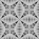 Design seamless monochrome geometric pattern Royalty Free Stock Photo