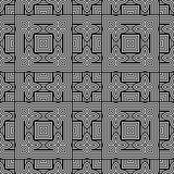 Design seamless monochrome geometric pattern Stock Photo