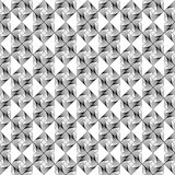Design seamless monochrome geometric pattern Royalty Free Stock Image