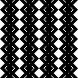 Design seamless monochrome geometric pattern Vector Illustration