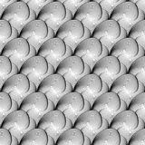 Design seamless monochrome geometric pattern Royalty Free Stock Photography