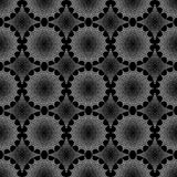 Design seamless monochrome geometric pattern Stock Photos