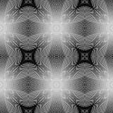 Design seamless monochrome grating pattern. Abstract grid textured background. Vector art. No gradient Stock Photo