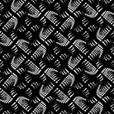 Design seamless monochrome grating pattern. Abstract lines textured background. Vector art. No gradient Stock Images