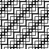 Design seamless monochrome grating pattern. Abstract zigzag background. Vector art stock illustration