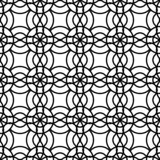 Design seamless monochrome grating pattern. Abstract background. Vector art royalty free illustration