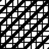 Design seamless monochrome grating pattern. Abstract geometric background. Vector art vector illustration