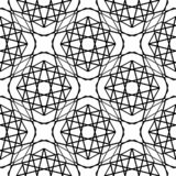 Design seamless monochrome grating pattern. Abstract geometric background. Vector art royalty free illustration