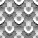 Design seamless monochrome grid pattern Royalty Free Stock Photos