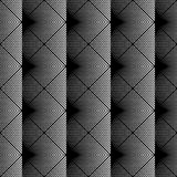 Design seamless monochrome grid pattern Royalty Free Stock Image