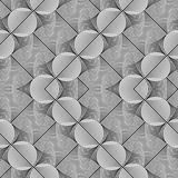 Design seamless monochrome grid pattern. Abstract zigzag background. Vector art. No gradient Stock Images