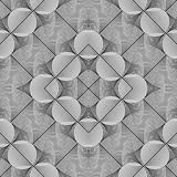 Design seamless monochrome grid pattern Stock Image