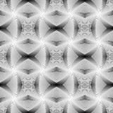 Design seamless monochrome grid pattern Royalty Free Stock Images