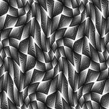 Design seamless monochrome grid pattern Stock Photo