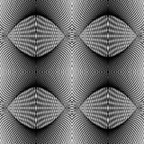 Design seamless monochrome grid textured background Stock Image
