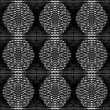 Design seamless monochrome hexagon pattern Royalty Free Stock Photography