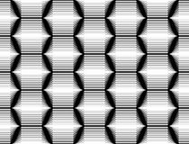 Design seamless monochrome hexagon pattern Stock Image