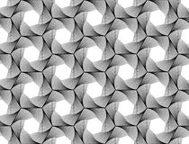 Design seamless monochrome hexagon pattern Royalty Free Stock Photography