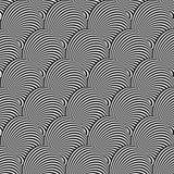 Design seamless monochrome illusion background Royalty Free Stock Image