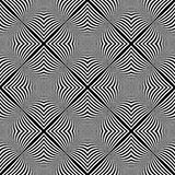 Design seamless monochrome illusion background Royalty Free Stock Photography