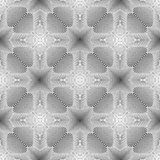Design seamless monochrome illusion background Royalty Free Stock Photography