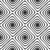 Design seamless monochrome labyrinth pattern Royalty Free Stock Images