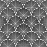 Design seamless monochrome octagon pattern Royalty Free Stock Photo