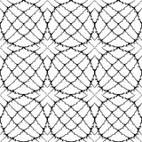 Design seamless monochrome pattern Stock Photography