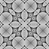 Design seamless monochrome pattern Stock Photos