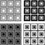 Design seamless monochrome pattern Stock Photo