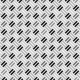 Design seamless monochrome pointed pattern Royalty Free Stock Image