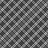Design seamless monochrome pointed pattern Stock Image