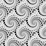 Design seamless monochrome snakeskin pattern Stock Photo