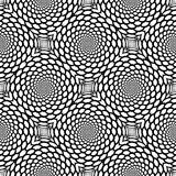 Design seamless monochrome snakeskin pattern Stock Photos