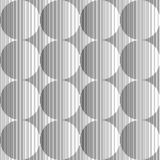 Design seamless monochrome sphere pattern Royalty Free Stock Photos