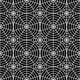 Design seamless monochrome spider web pattern Royalty Free Stock Photography